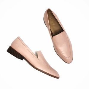 Madewell the Frances Loafer Pink Oyster Size 11